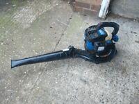 Petrol leaf blower lightweight 2 stroke engine in very good condition good working order