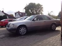 1993 Mercedes 220CE W124 Pillarless Coupe