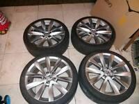 Audi vw alloys 18 inch pcd 5x112