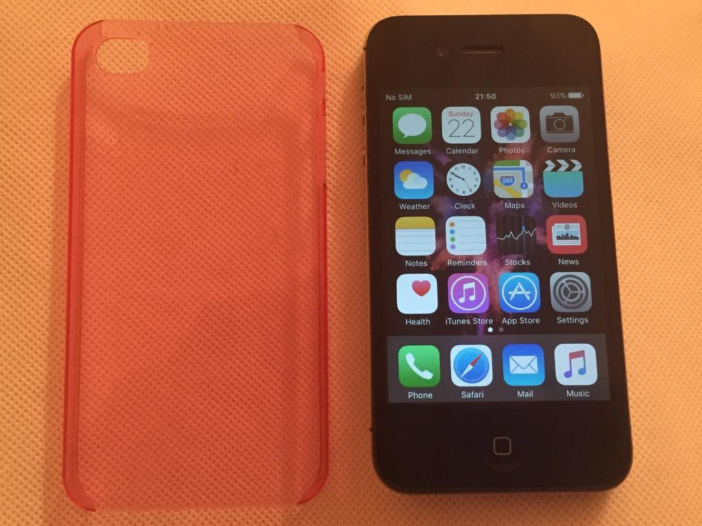 Apple iPhone 4s 16GB Any Networkunlocked50 no offersin Milton Keynes, BuckinghamshireGumtree - IPhone 4s 16GB Unlocked To Any Network Works fine with no issues Used handset for 5 years still has plenty of life left in itCome check and test before buy iCloud removed Charging cable and case only NO OFFERS , SOLD AS SEEN ( come check it on spot...