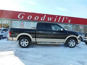 2011 Ram 1500 LONGHORN PACKAGE! HEATED, LEATHER, COOLED SEATS!