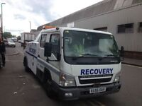 Vehicle recovery service, car, motor bike, van, Towing, Jump Start, Fuel Delivery, Scrap Hauling