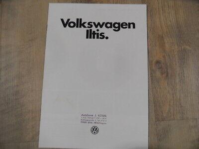 Prospekt brochure VOLKSWAGEN Iltis 1979  SR218