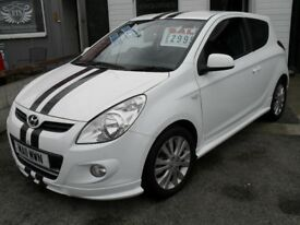 HYUNDAI I20 1.2 2011 11 REG,£30 YEARLY ROAD TAX,LOW MILES BARGAIN £2995