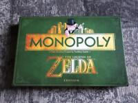 Monopoly board game the Legend of Zelda edition
