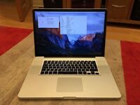 """17"""" Macbook Pro - Mid 2010 model, i5, 640GB, 8GB"""