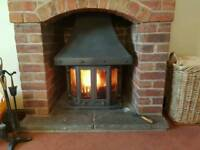 Dovre 1800 multi fuel woodburner log burner