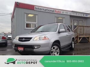 2002 Acura MDX 3.5 / 7 PASS / LEATHER / MOONROOF