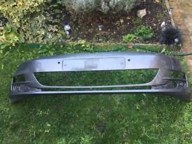 Volkswagen Golf VII Genuine Front bumper in good condition