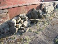 For sale Rockery Stones
