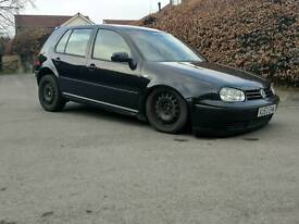 VW mk4 Golf 1.8t registered as a 1.6 Air Ride Show Car Modified airlift bagged