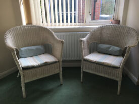 Two Wicker Chairs
