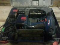 Bosch 14v drill with batteries charger and case! Working order! Can deliver or post! Thank you
