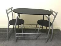 Dinning Table and 2x chairs for 2!
