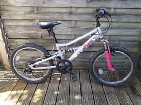 Girl bike for 7~9 year old