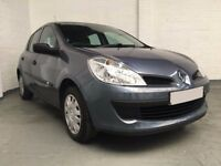 2007 RENAULT CLIO 1.2 EXPRESSION 5dr *** FULL YEARS MOT ***