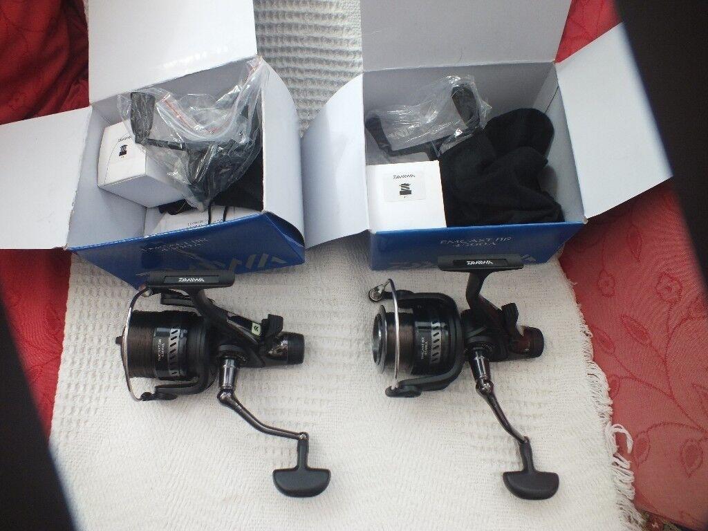 2 x New Daiwa EMCAST BR 4500 FREESPOOL REELS   in Bolton-upon-Dearne, South  Yorkshire   Gumtree