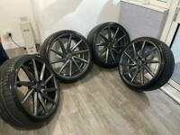 "JUDD 22"" Alloy wheels & tyres ( Audi, vw, Mercedes)"