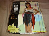 Free ladies adult pirate costume