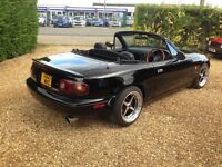 Mx5 mk1 eunos for sale HSD coilovers , rota wheels