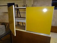 Retro style display cabinet