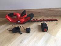 Black & Decker cordless 18 volt hedge trimmer