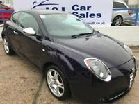 ALFA ROMEO MITO 1.4 TB MULTIAIR DISTINCTIVE 3d 135 BHP A GREAT EXAMPLE INSIDE AND OUT WITH FULL FSH