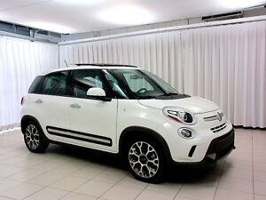 2015 Fiat 500 IT'S A MUST SEE!!! 500L TURBO 5DR HATCH w/ ALLOYS,