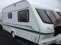 Eldis Chiltington 2 berth caravan good all round condition cis reg
