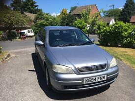 2004 Silver Vauxhall Astra For Sale