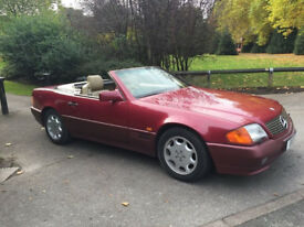 1990 Mercedes-Benz 300 3.0 SL Convertible with Hard Top - 67k with History..Restored