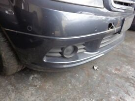 MERCEDES C CLASS C220 W204 ESTATE 2010 FRONT BUMPER COLOUR CODE 755