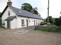 2 Bedroom Farm Cottage near Ashkirk