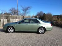 ROVER 75 CONNOISSEUR GREEN AUTO HEATED BEIGE LEATHER SEATS RADIO/CD LOW MILEAGE SHOWROOM CONDITION