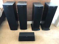 KEF 100 Watt+ Home Cinema Speaker System
