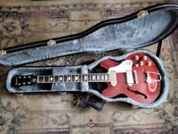 epiphone casino coupe in cherry