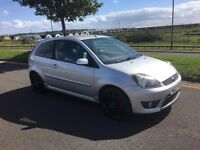 2007 FORD FIESTA ST SILVER 12 MONTHS MOT FULL FORD SERVICE HISTORY GREAT CONDITION MINT CAR