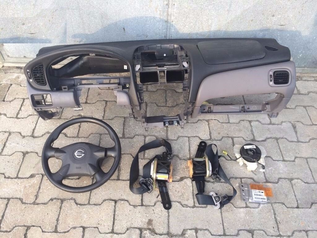 Sale Left hand drive dashboard & airbag kit Nissan Almera N16 2000 - 2006 Europe LHD conversion part