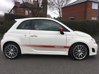 500 ABARTH 2015 15 reg only 5000 miles fully loaded red leathers