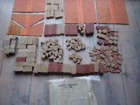 1930'S LOTT'S BRICKS SOLID STONE CONSTRUCTION SET