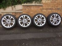 audi 2010 tts alloys with tyres