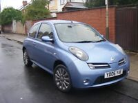 2006 plate nissan micra sport,3dr,long mot,f.s.history