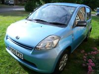 Daihatsu sirion 1.0 same as toyota yaris Mot Tax Fsh