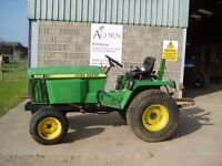 Used John Deere 855 compact tractor