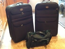 Antler suitcases and antler hold-all