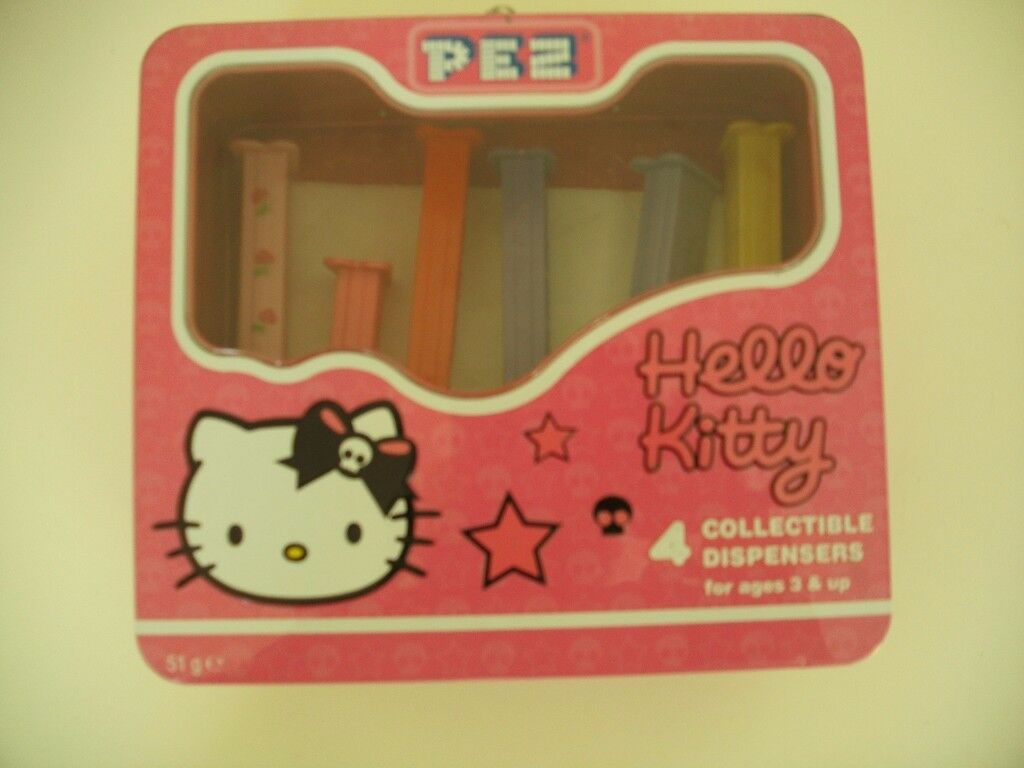 Hello Kitty collectable Pez dispensers