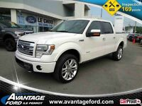 2013 FORD F-150 4WD Super Cab 145'' WB Limited/Certifie/Nav/Toit