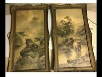 Pair of Lithographs Pictures