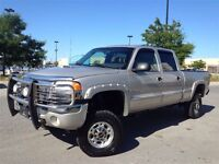 2006 GMC Sierra 2500 Classic | SLT | Crew Cab | LIFT KIT | LEATH