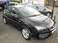 FORD FOCUS 1.6 Zetec [115] [Climate Pack] (panther black) 2007